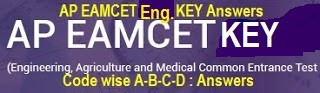 AP EAMCET 2017 Answer Key Released Engineering Medical Question Paper Solution Download @apeamcet.org