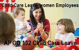 AP Child Care Leave 60 days to Women Employees GO 132 Child Care Proforma