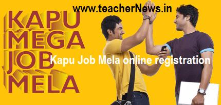Kapu Job Mela 2018 Online Registration Guidelines, Participant Companies, Selection list