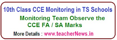SSC CCE Monitoring