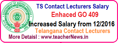 TS Contract Lecturers Salaries