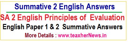 Summative 2 English