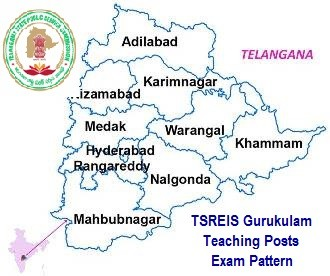 TSPSC Gurukulam TGT/ PGT/ PET/ Staff Nurse Posts Exam Pattern - Screening Test Paper wise Marks