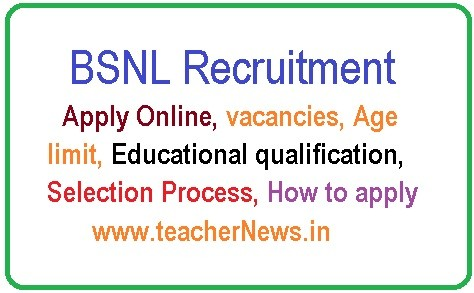 BSNL Management Trainee Jobs 2019 Online Apply for 300 Vacancies of MT (Telecom Operations) Posts
