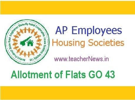 AP Employees Housing Society Allotment of Flats GO 43 Guideline in Telugu