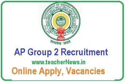 AP Group 2 Recruitment 2019 – 446 Vacancies Online Apply @ psc.ap.gov.in