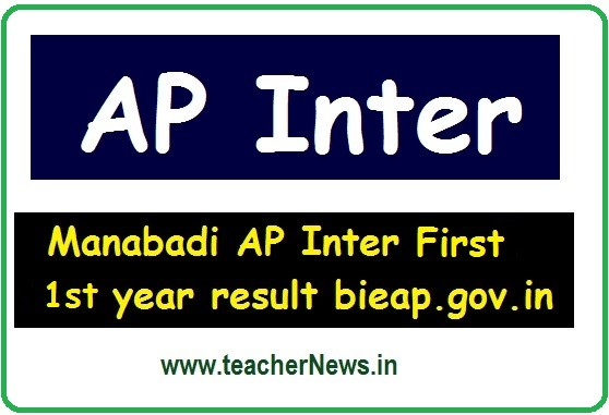 AP Inter 1st Year Results 2020 - Junior Inter Manabadi, results.cgg.gov.in bieap.gov.in