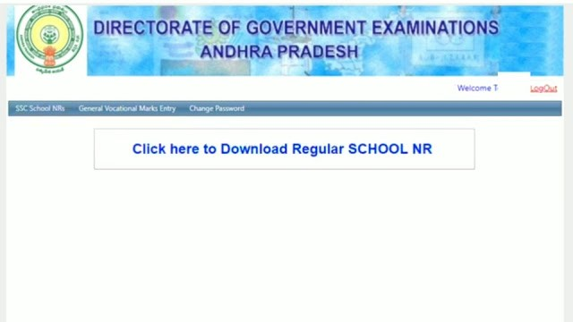 How to Download AP 10th Nominal Rolls March 2020 - 2