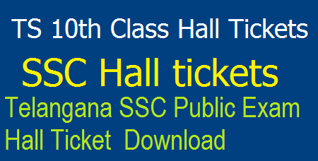 TS 10th Class 2020 Hall Tickets @ bse.telangana.gov.in – Download Telangana SSC Public Examination Hall Ticket March 2018