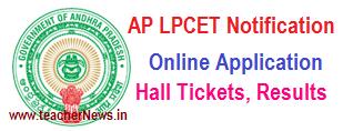 AP LPCET Notification 2020 - AP Language Pandit Training Online Apply @ lpcet.apcfss.in