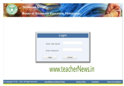 TS SSC Exam 2020 Online Application DDO Submit Process Step by Step Instructions