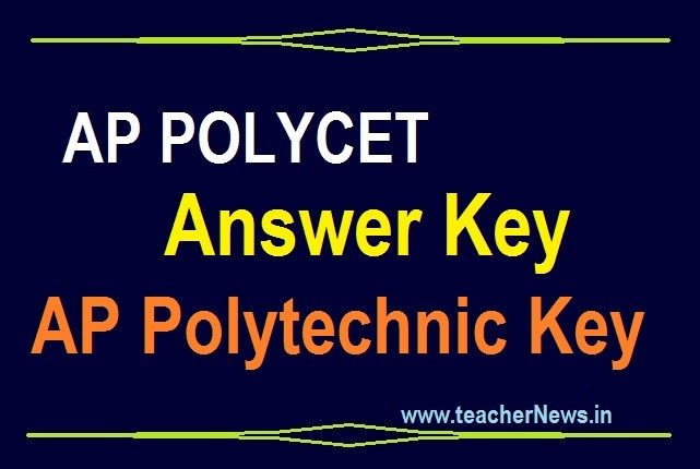AP POLYCET Answer Key Scheet 2020 | AP Polytechnic Set A, B, C, D Answers Cutoff Marks