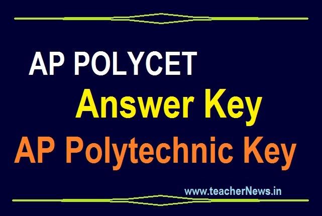 AP POLYCET Answer Key Scheet 2020 | AP Polytechnic Set A, B, C, D Answers Cutoff Marks