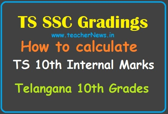 How to calculate TS 10th Internal Marks 2020 - Telangana SSC Grades
