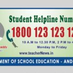 Students Tool free Number of AP - Students Subjects doubts Call Tollfree Number