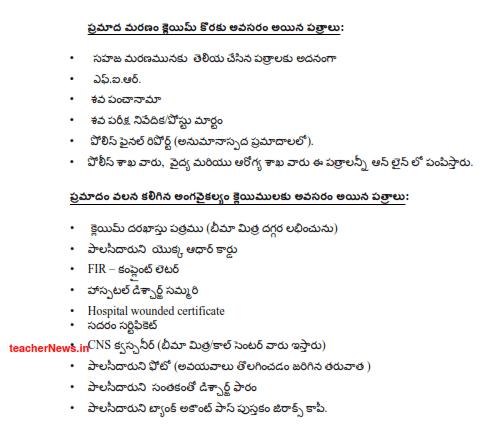 YSR Bheema Claim process 1