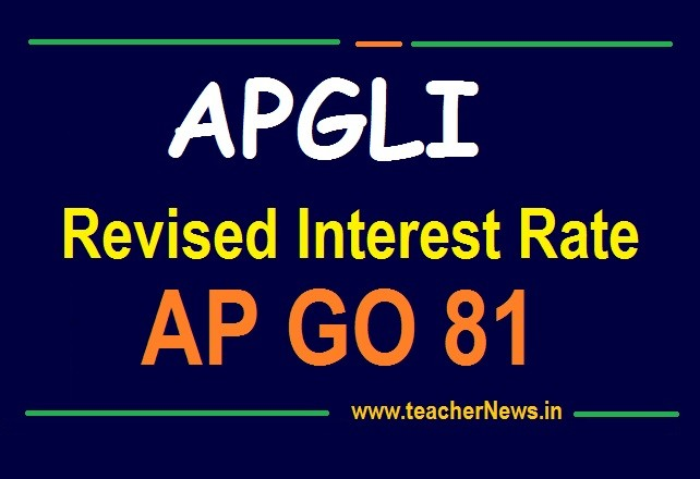 AP GIS Revised Interest Rates 2020 | AP Employees Group Insurance Scheme New Interest Rates Table