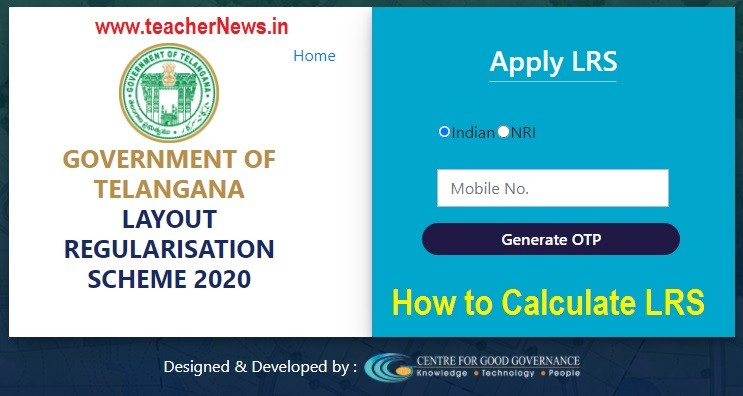 Telangana LRS Calculator 2020 - TS LRS Revised GO and Ammendment