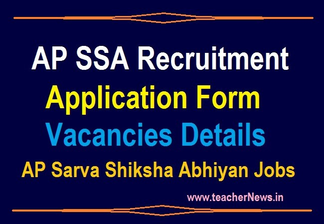 AP SSA Recruitment Notification for Vacancies 2020 - Online Apply for ANM WatchmanMIS Accountants Data Entry operators Messengers Posts