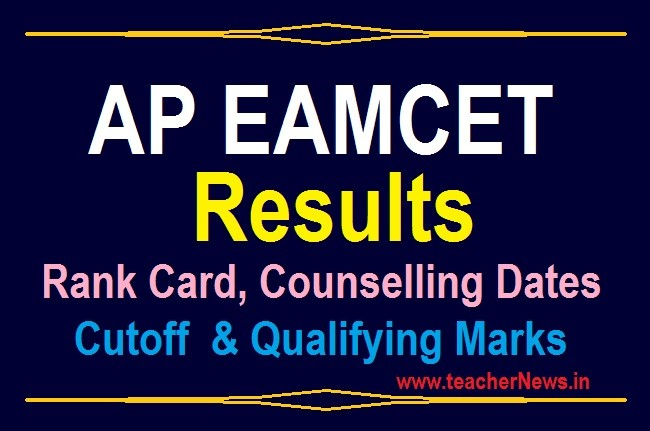 Manabadi AP EAMCET Results 2020 Available – Rank Card Download @ Sche.ap.gov.in
