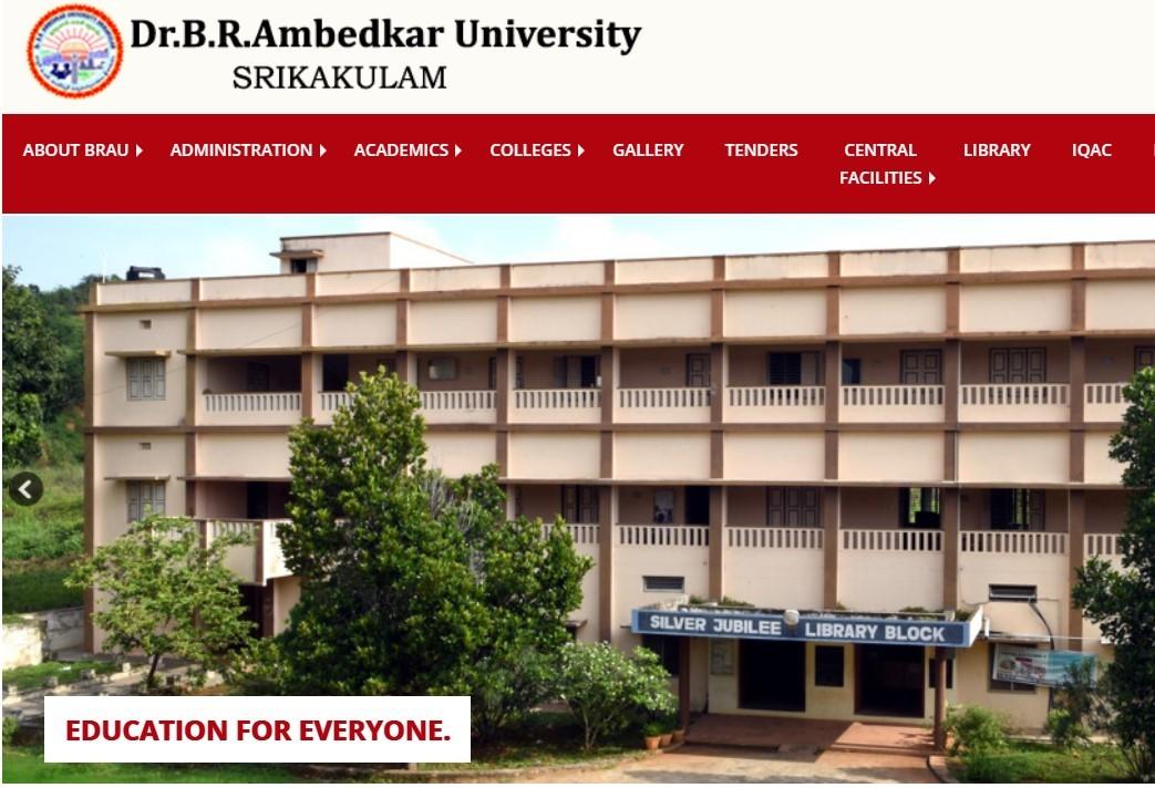 Ambedkar university BRAU LLB LLM & MCA Results and BRAU UG Exams are 2020 Manabadi