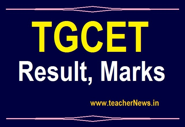 TGCET Result 2020 TG Gurukul CET 5th class Entrance Test Results