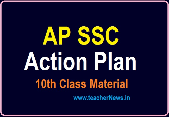 103 Days Action Plan for AP 10th Class Public Exams 2021