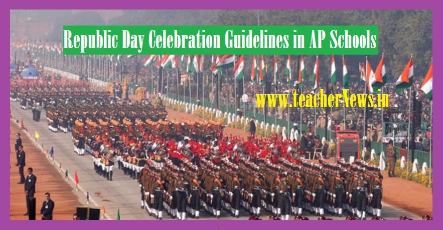 AP Schools Republic Day Celebration Guidelines 2021 – Telugu Desabhakthi Geethalu