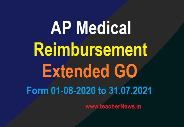 AP Medical Reimbursement Extended (Final) upto 31st July 2021 GO No 17