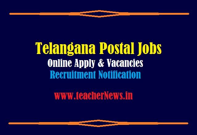 Telangana Postal Jobs Online Apply 2021 GDS Notification for 1150 Vacancies