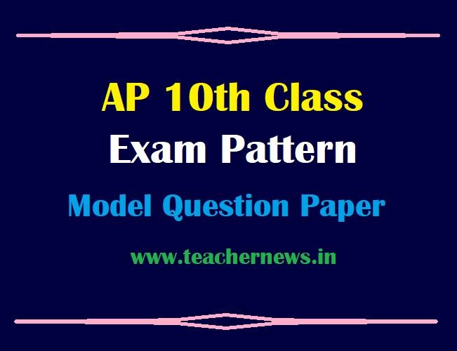 AP 10th Exam Pattern 2021 SSC Public Exam Blue Print June 2021