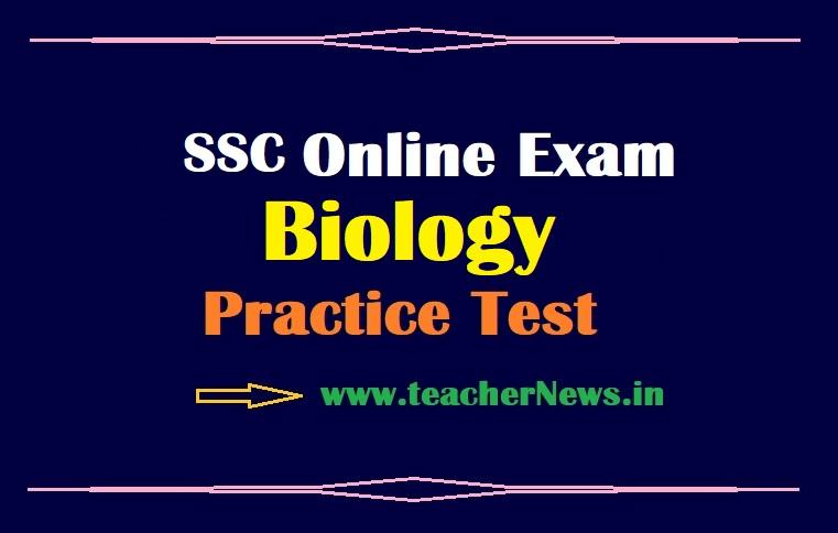 10th Biology Online Exam June 2021 – AP SSC NS Slip Test Free in Online (Biological Science)