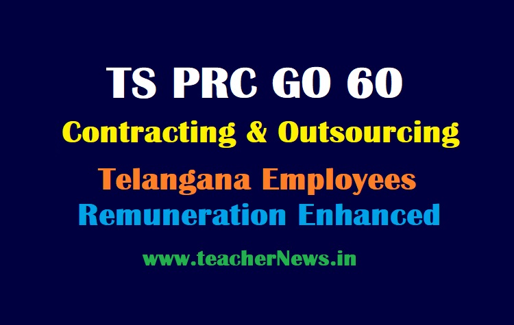 GO 60 TS PRC Contract and Outsourcing Employees Remuneration Enhancement - Salary Hike