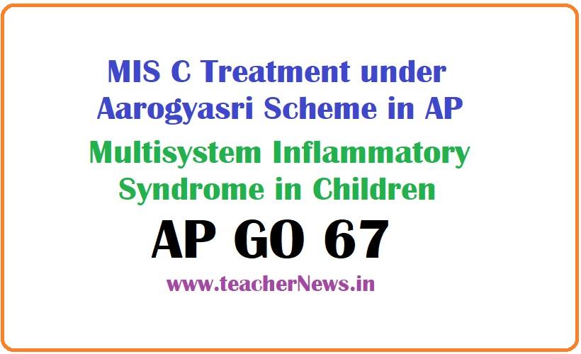 MIS C Treatment under Aarogyasri Scheme in AP - Multisystem Inflammatory Syndrome in Children